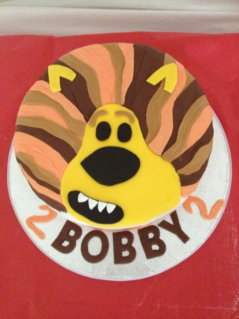 Raa Raa The Noisy Lion Cake For My Little Mans 2nd Birthday